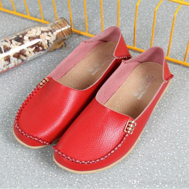 Nouveau design femmes Chaussures Casual de haute qualité en or rouge blanc noir coupe-bas mode plat taille sneaker extérieur en cuir 35-44