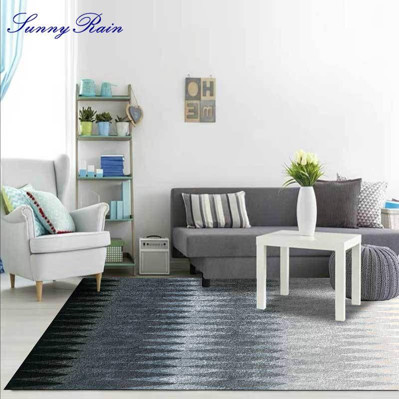 SunnyRain 1 pièce Tapis et Moquettes pour la maison Séjour Surface Tapis pour Salon Chambre de grands tapis