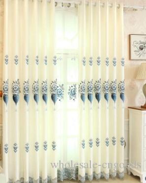 2020 뜨거운 판매 커튼 공장 직접 판매 유럽 태피스트리 자카드 자수 커튼 거실 바닥