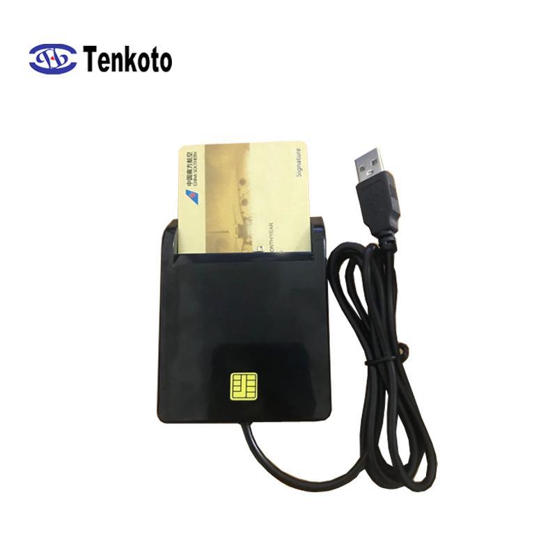 USB بطاقة SIM الكاتب IC رقاقة قارئ بطاقة وظيفة متعددة مع البرامج ISO7816 IC رقاقة بطاقة القراءة