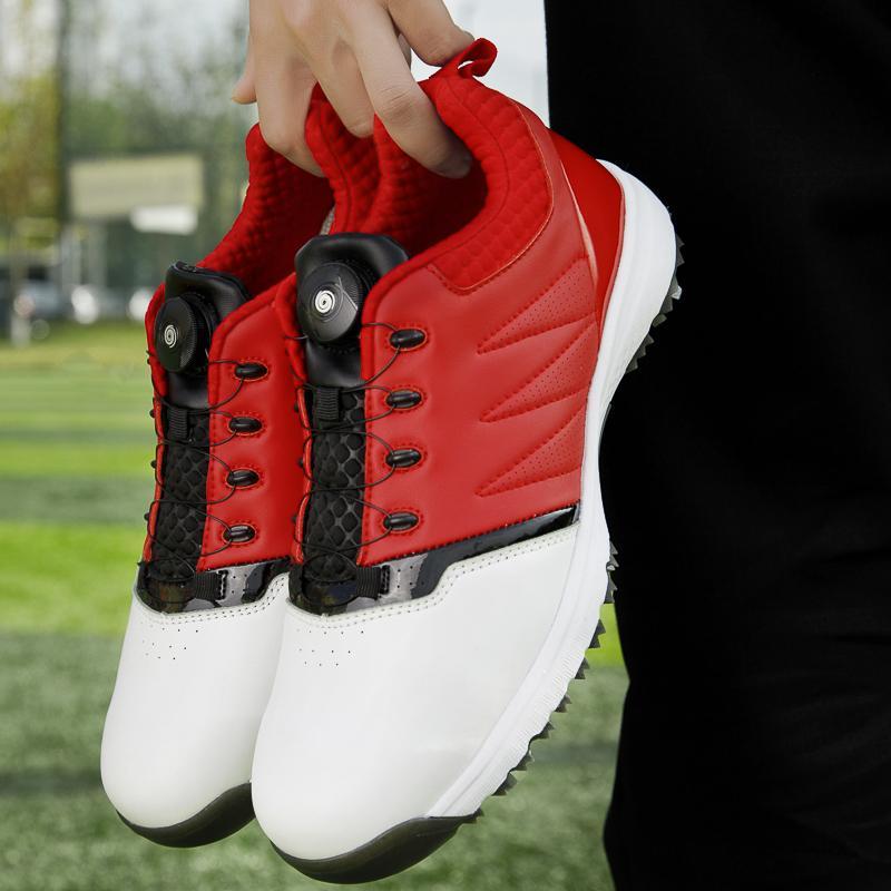 2020 Les nouveaux hommes de Chaussures de golf imperméables Pro Hommes Chaussures de sport pour hommes Chaussures de sport de formation