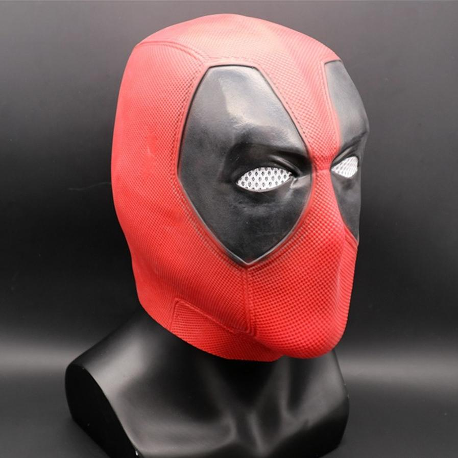 Deadpool Scary Zombie Mask Latex Halloween Cosplay Costume Superhero Party Props