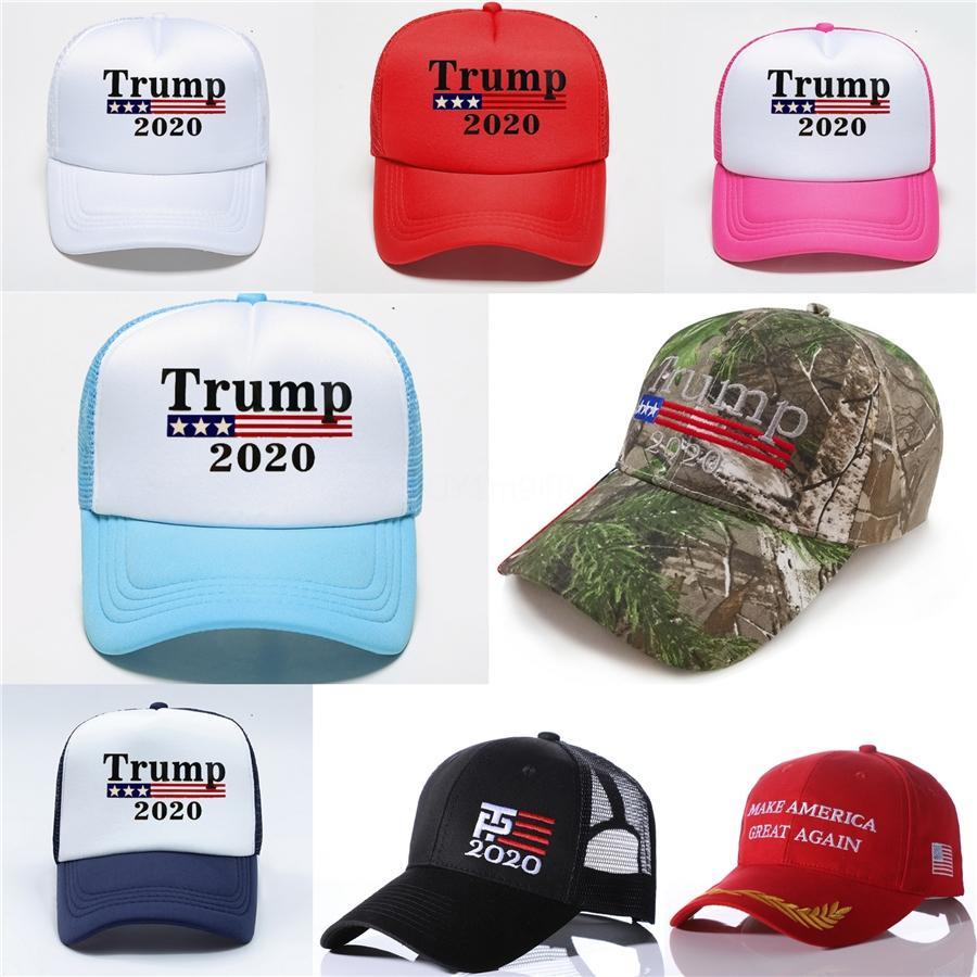 5 Renk Gündelik Donald Trump 2020 Bütünleme Amerika Büyük Yine Seçim Beyzbol şapkası Pamuk # 294 Doğa Sporları Nakış Snapback Hat Caps