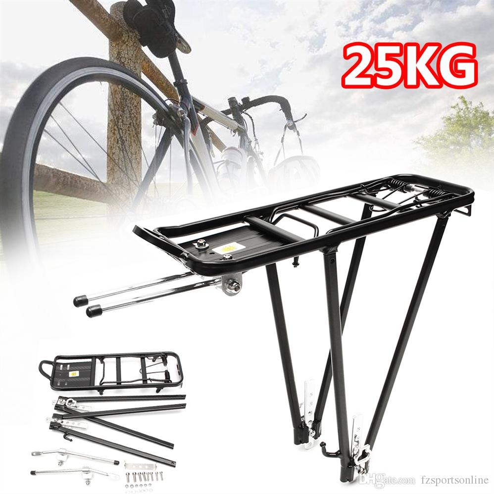 Alliage Vélo Arrière Bagage rack réglable vélo Sacs