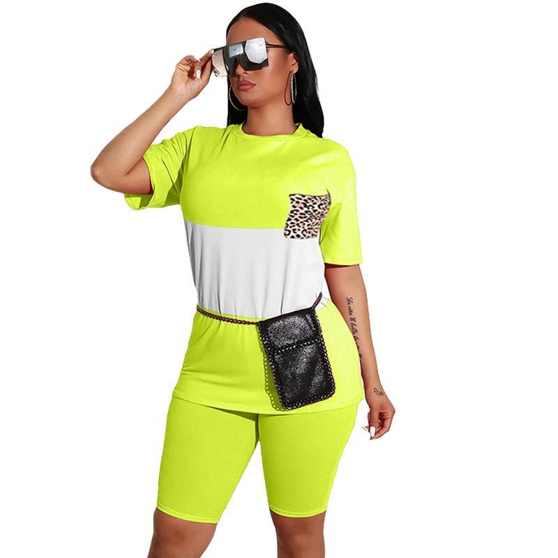 Повседневный комплект из двух частей женские летние соответствующие наборы топ и шорты комплект спортивный костюм спортивный костюм женский 2 шт наряды для женщин шорты