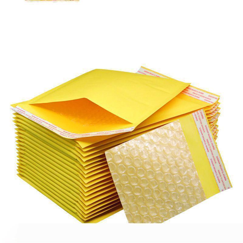 B B 9 taille sac à bulles 110 * 200 * 130cm-250cm auto-obturants bulle poly papier kraft Enveloppe Sac PE bulles enveloppes matelassées Sac d'emballage