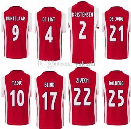 شخصية 20-21 مخصص تاديتش 10 هونتيلار 9 DOLBERG 25 ZIYECH 22 التايلاندية الجودة كرة القدم الرياضة بالقميص 36 دي تجلى جانب القميص مخصصة على الانترنت
