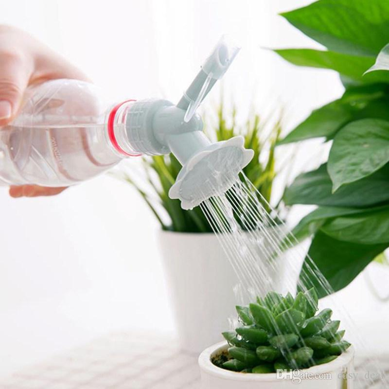 Plastique fleur Abreuvoirs pour bouteille arrosoirs Bureau tête d/'Arroseur de Douche
