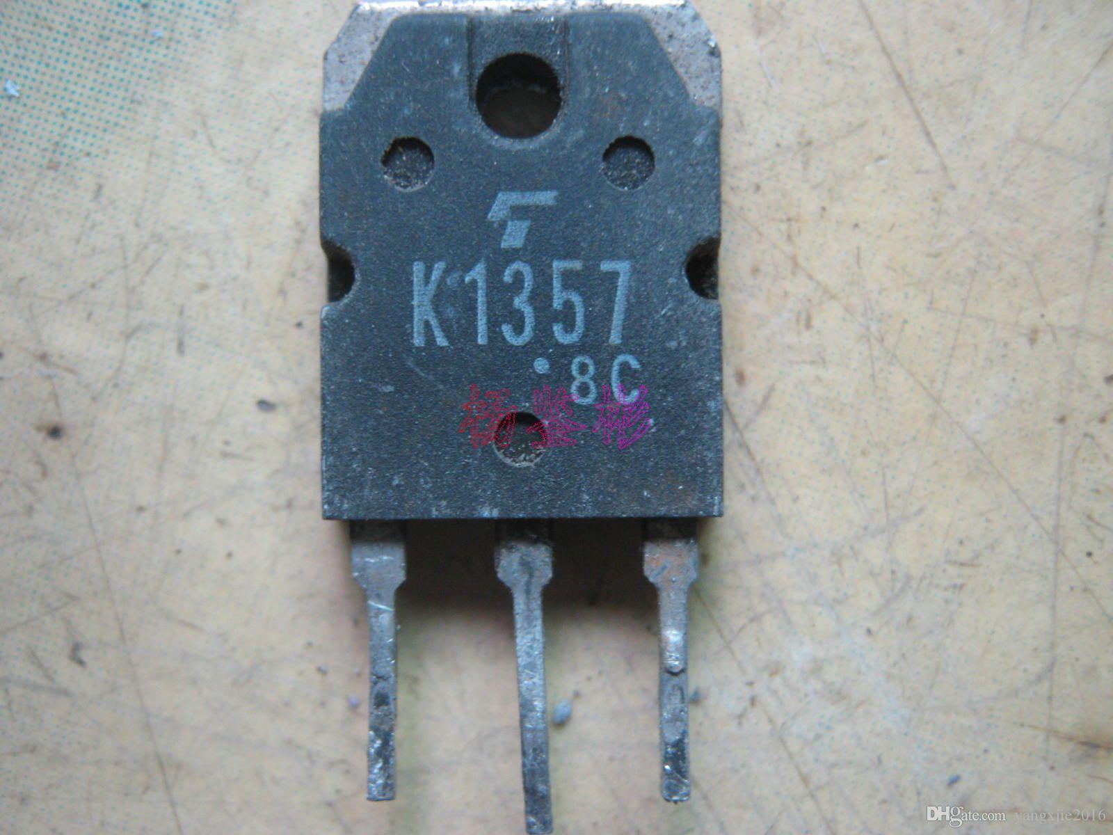 Оригинальный полевой транзистор, используемый 2SK1357 K1357 MOSFET TO-247 TO-3P Test Ok