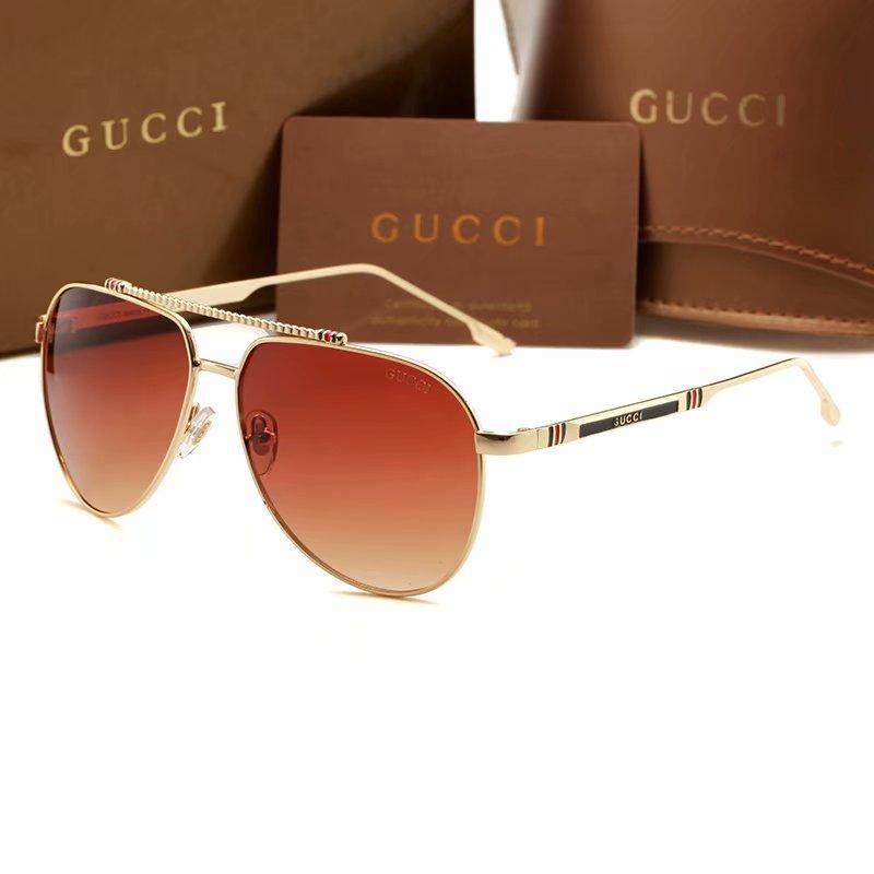 Großhandels-Luxus-Qualitäts-klassische Pilot Sonnenbrille Entwerfer-Marken-Frauen der Männer Sonnenbrillen Brillen Metall-Glas Lense