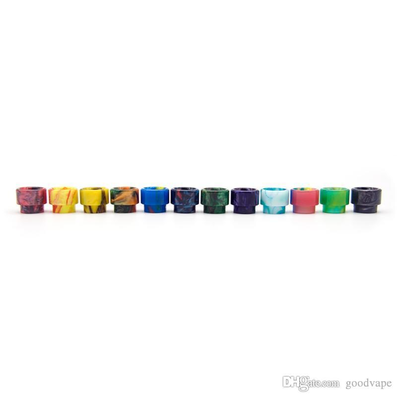 VAPE More Colorful 810 Resin Drip Tip Wide Bore Mouthpiece Mouth Fit Goon 51281 Kennedy 24 Battle Apocalypse RDA Atomizer Vaporizer Hot Cake