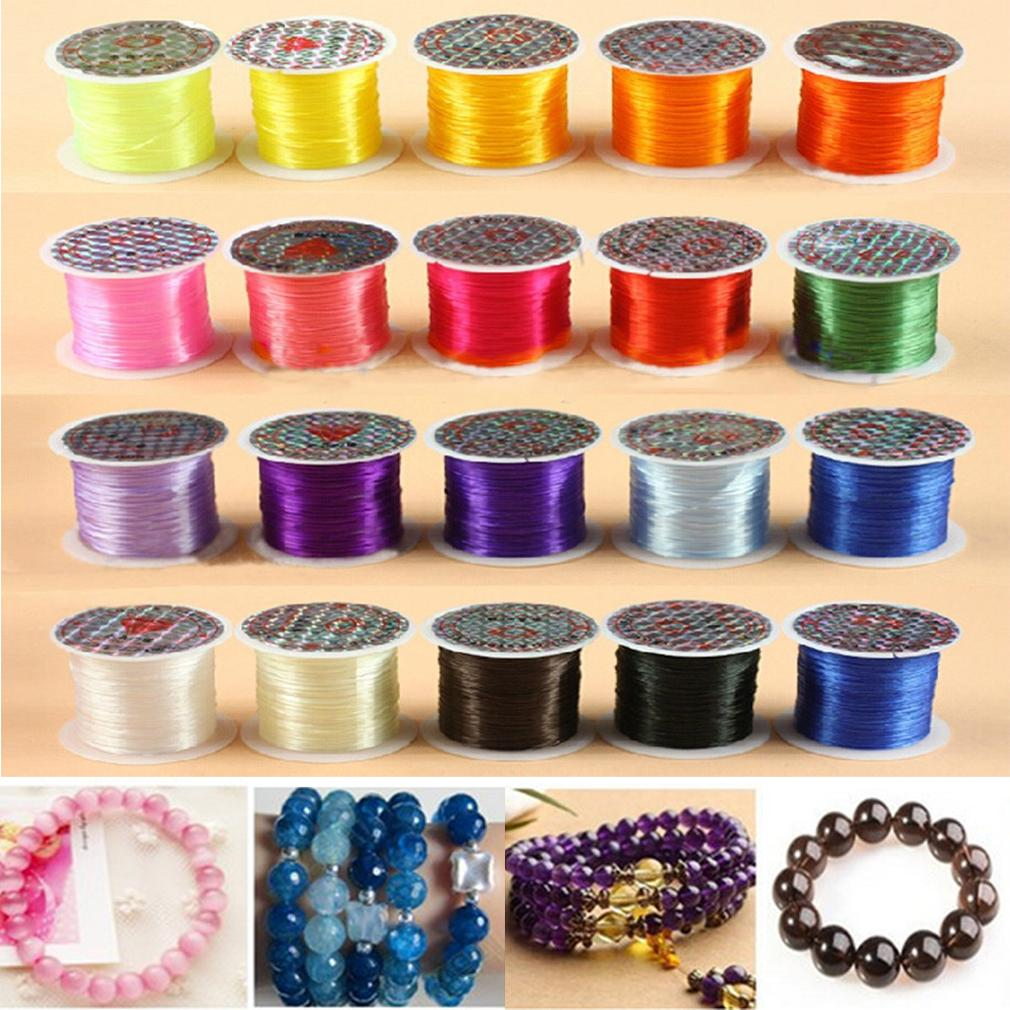 Elastic Strong Stretchy Beading Thread Cord Bracelet String For Jewelry Making *