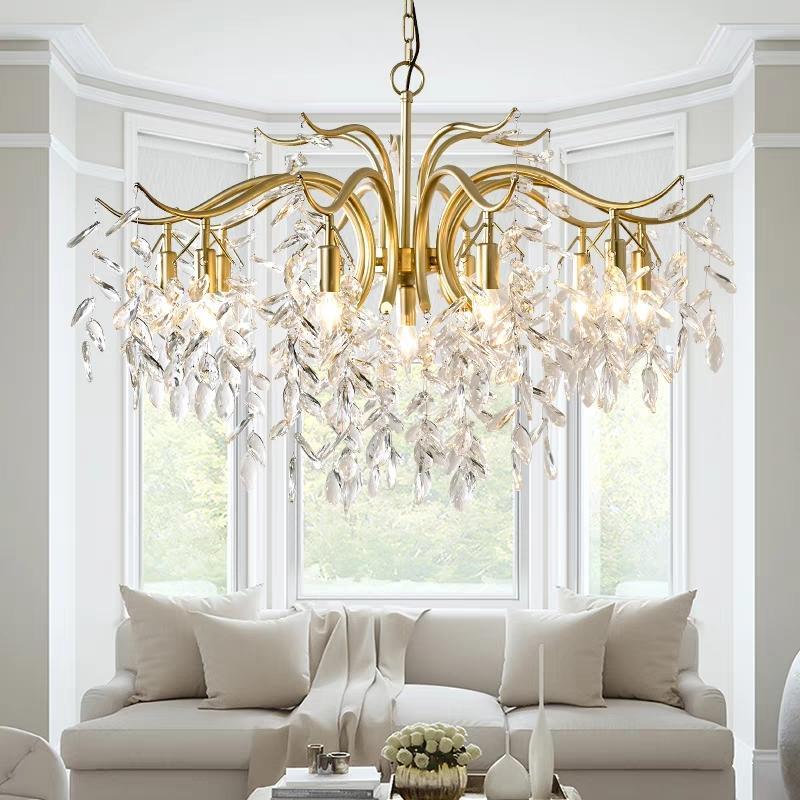 شنت الحديثة بقيادة الثريا الذهب دائرة السقف LED إضاءة الثريا لغرفة الاستقبال غرفة المطبخ AC 100-255V