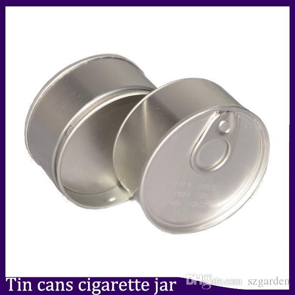 Kalay Kutular sigara kavanoz 0266305 OEM Özel tasarım için en iyi Bottom Sıkıştırılmış Kuru Ot Flowers Sızdırmazlık Kapak Kapak Mühürlü öncesi