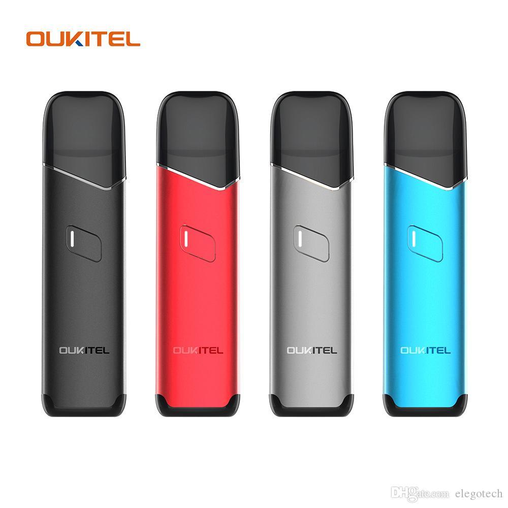 Oukitel MATE Pod System Kit встроенный картридж 1200mAh 2 мл с сеткой 0,6 ом керамические катушки 1,2 ом совместимость с головками N0RD