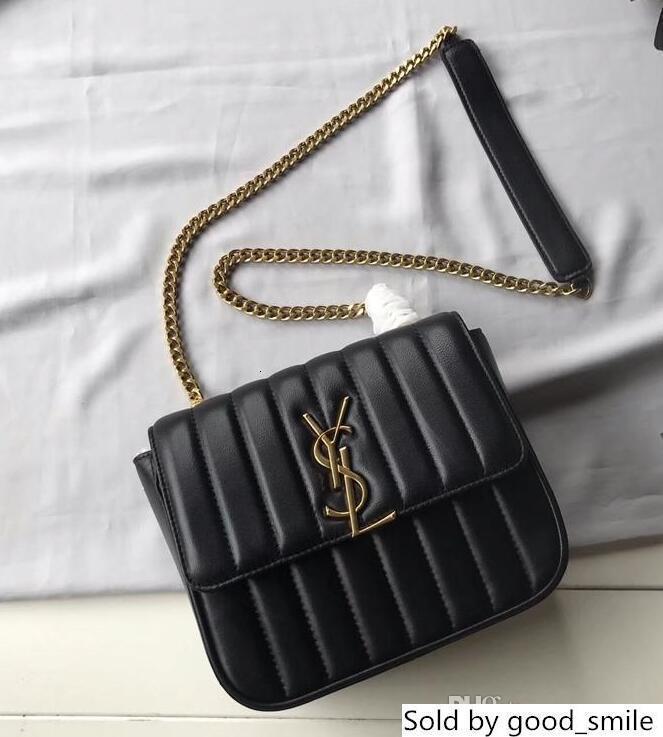 532612 diseñador personalizado cuero auténtico hecho de mini cadena de hombro de lujo correa de la mujer bolso de tamaño 20.5x17x8cm