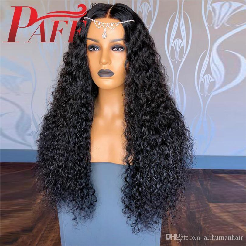 360 Lace Frontal Human Hair Wigs Peruvian Curly Remy hair 360 Free Part Natural Color Glueless With Baby Hair