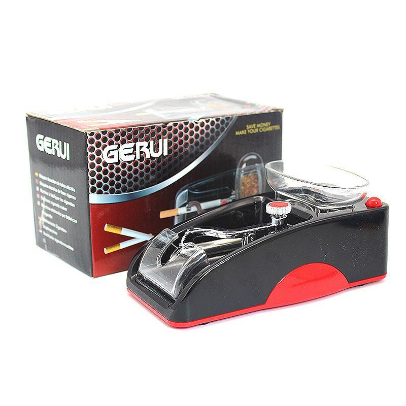 클래식 담배 롤링 Mechaine 자동 전자 담배 롤러 레드 블루 자동 롤러 DIY 도구 고품질 흡연 기계