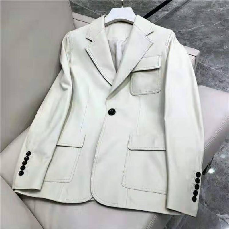 100% Koyun Derisi Ceket kadın Kürk Gerçek Hakiki Deri Ceket Kadın Giyim 2019 Bahar Kore Zarif Chaqueta Mujer ZT2232