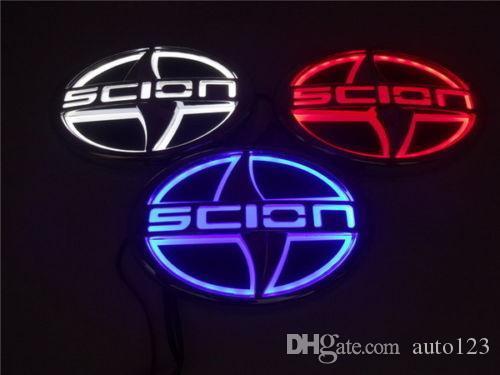 조명 5D 자동차 자동차 LED 테일 후면 로고 빛 배지 램프 엠블럼은 자제 4.92 X의 3.35inch에 적합