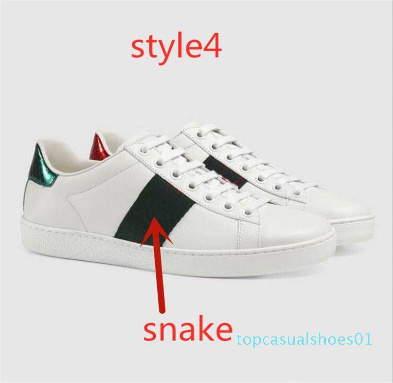 SICAK SATMAK! tasarımcı sneakers yaz yeni küçük beyaz ayakkabı 2020 bahar ve yaz yeni lady küçük arı rahat ayakkabılar erkek tasarımcı ayakkabı t01