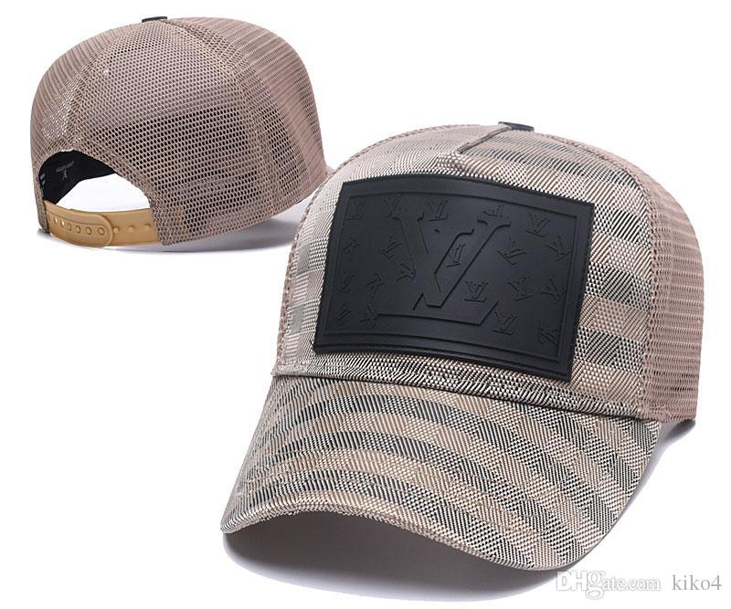 Top Design escolhas populares Da Marca de Luxo Bonés Letras ICON cap top quality marca chapéu ícone Bonés de Beisebol para as mulheres homens