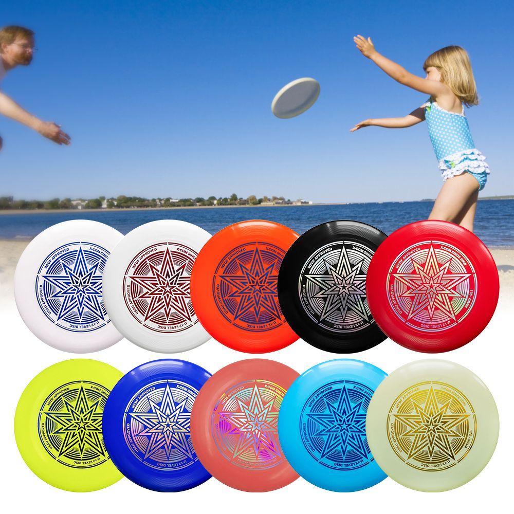 Giochi all'aperto Giocattolo Sport Disc Tiro Cattura Flying Disc Formazione Beach Flying Disc Per giocattolo per bambini Sport acquatici dischi 10.7 pollici 175G