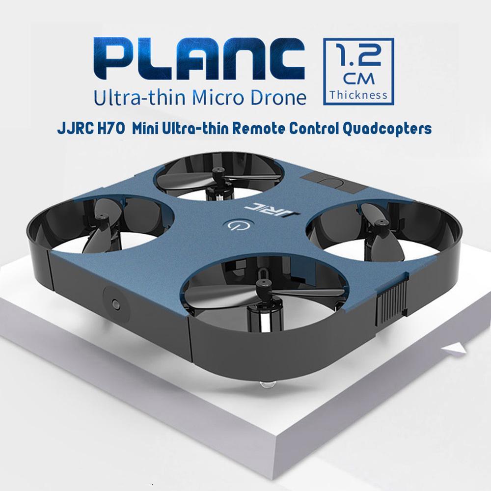مصغرة الطائرة بدون طيار رقيقة جدا بعد موقف الانتظار تحكم كوادكوبتر 4CH PLANC مع طوي ذراع اللعب في الهواء الطلق