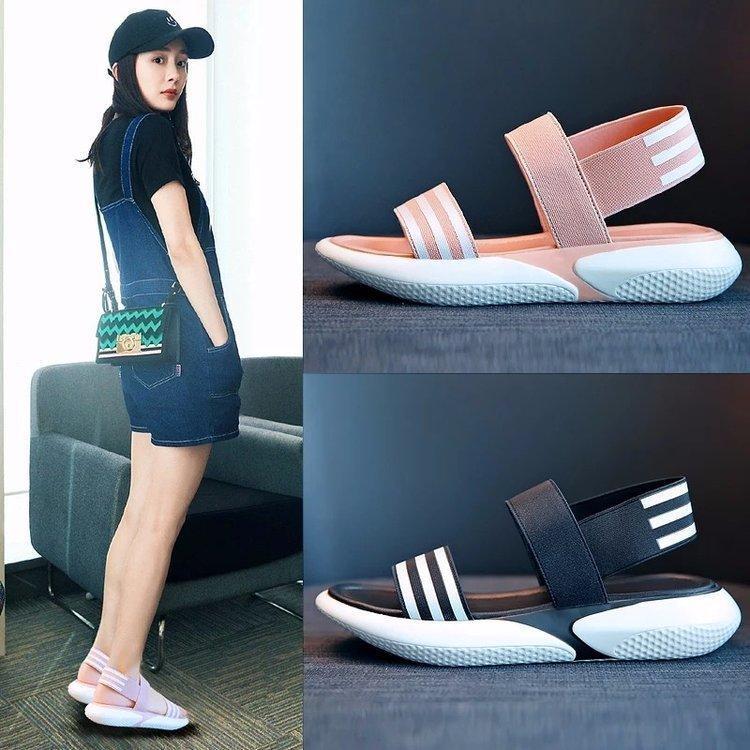 Fashion2019 Sandálias Movimento Xia Baida Estudante de Fundo Plano Mulher Não-slip Praia Sapatos Outras Roupas