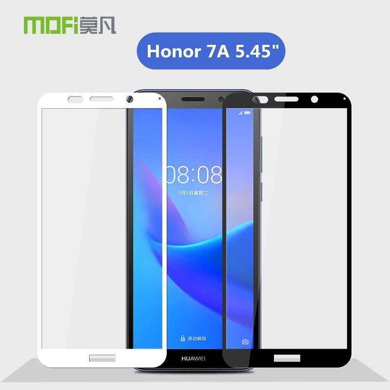 gros honneur 7A Verre Trempé MOFI originale Huawei Honor 7A 7 A DUA-L22 Version russe pleine couverture en verre 5,45 pouces