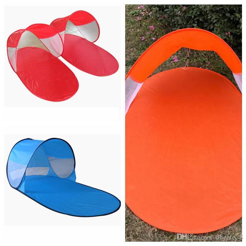 Automatique Camping Pare-soleil Tente extérieure Plage Teanrt Voyage Pop Up Canopy Summer Mix Tente Couleur YZ274