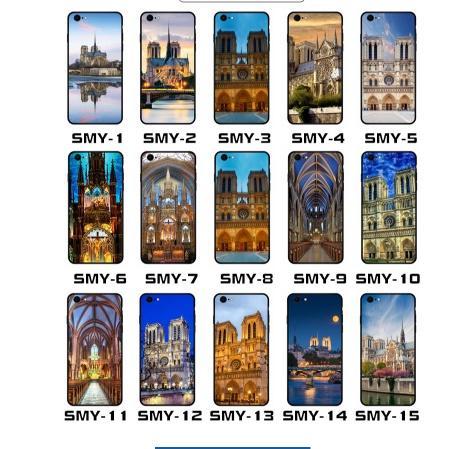 حالة الهاتف الفاخرة نوتردام دي باريس لآيفون 6 6S 7 7 زائد 8 8 زائد X XS ماكس لينة تبو الحالات