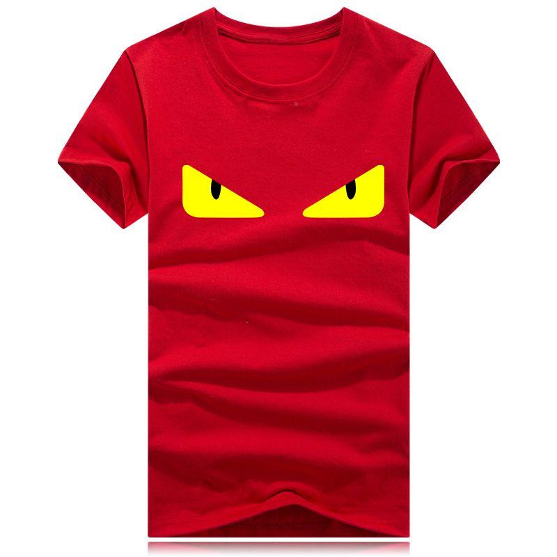 Camiseta de diseño de marca FF para hombre Camiseta de manga corta de verano Camiseta de marca Eyes Print Camiseta de hombre al por mayor Tallas grandes S-5XL
