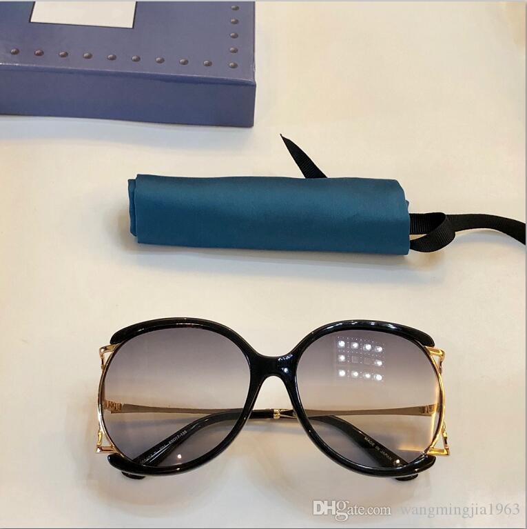 New qualidade superior 0594 mens óculos homens vidros de sol mulheres óculos de sol estilo de moda protege os olhos Óculos de sol lunettes de soleil com caixa