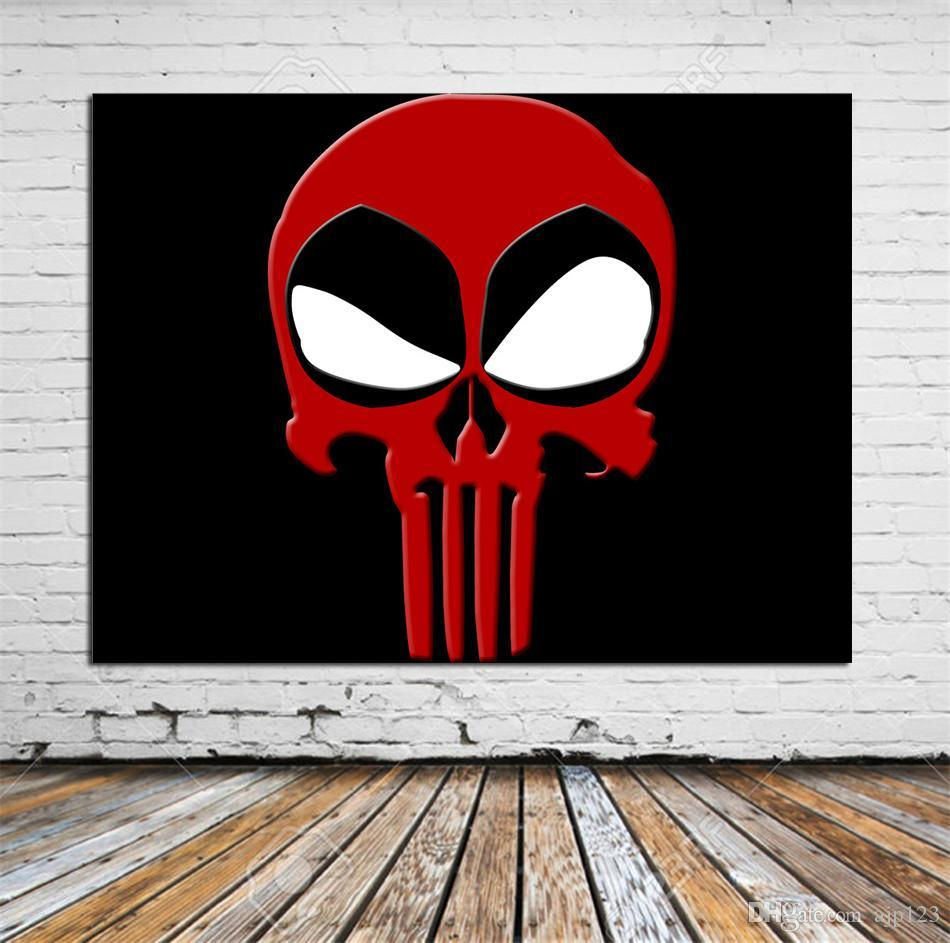 2019 Deadpool Logo Free Download Hd Wallpapers Home Decor Hd Printed Modern Art Painting On Canvas Unframed Framed From Ajp123 8 05 Dhgate Com