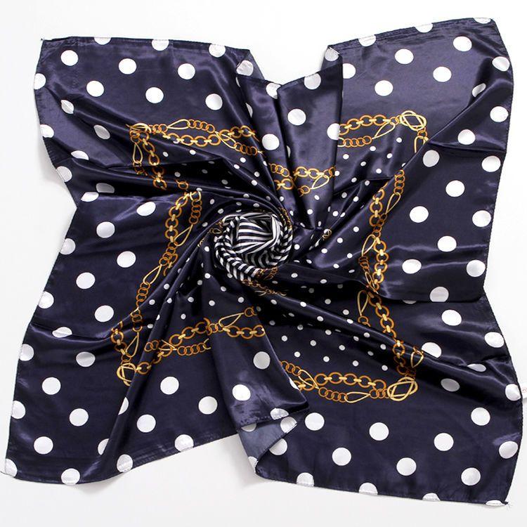 Neue Kunstseide-90-Platz Schal All-Gleiches Multi-Funktions-Mode Druck der weibliche Kunst Retro Korean dekorativer Schal