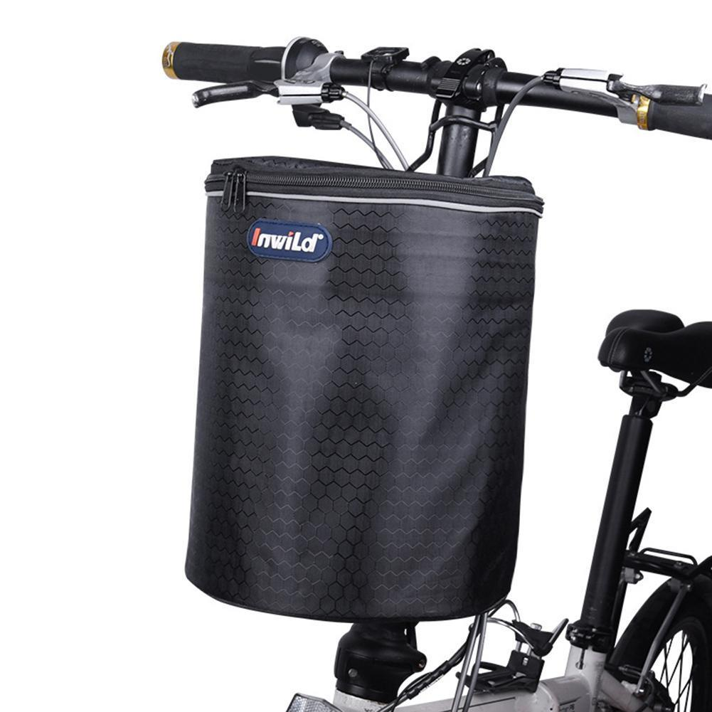 2020 Multifunctional Portable Bike Handlebar Bag Bike Basket With Collapsible Bike Basket Bicycle Front Bag With Reflective Strap From Successfun 22 93 Dhgate Com