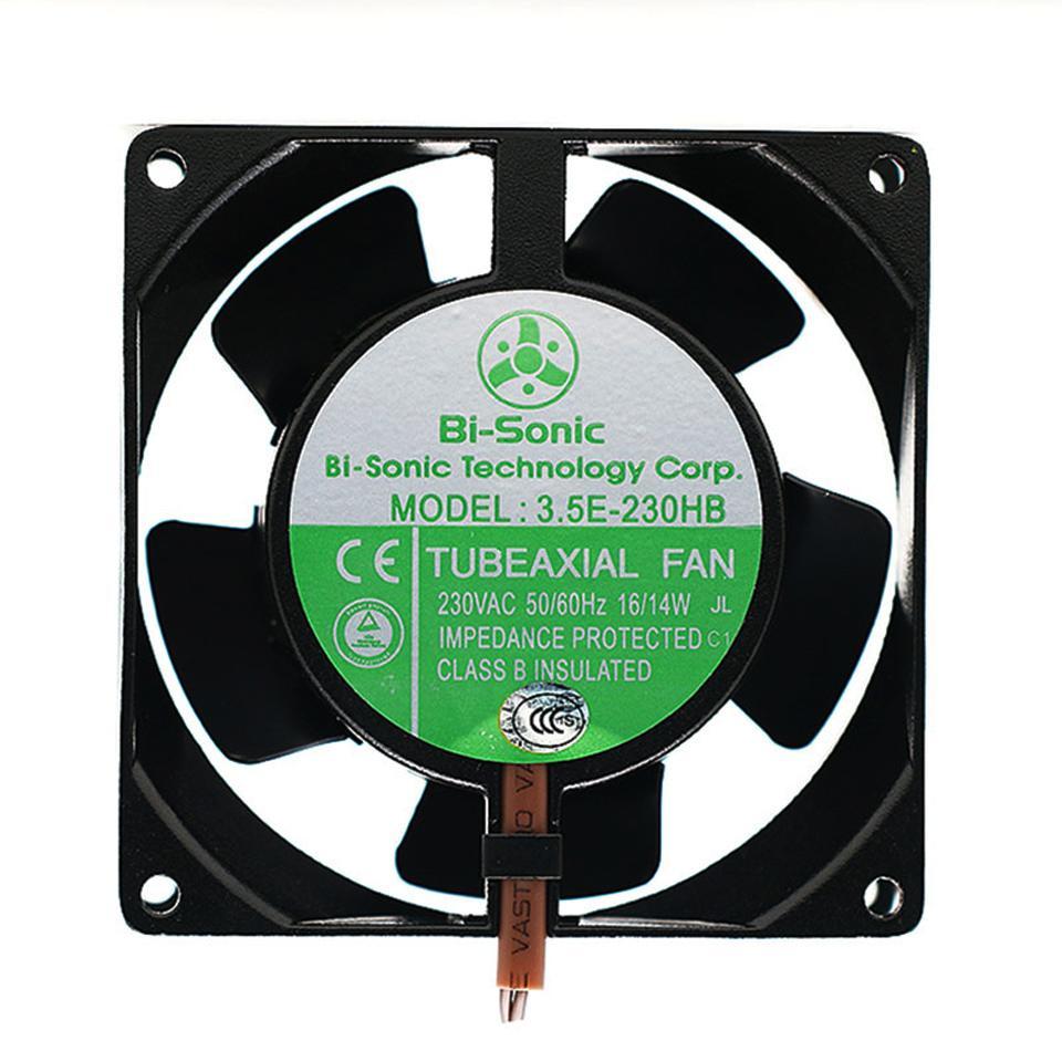 Barry Bi-sonic 3.5E-230HB coolingfan 9238 * 38mm 230V alta temperatura de la cámara de flujo axial ventilador de armario eléctrico 92 * 92