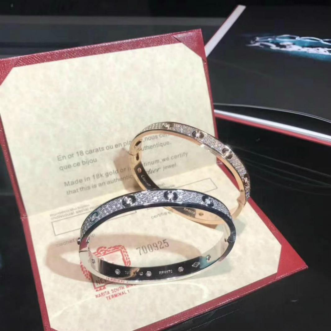 FAHMI Hot Wide Version of the Bracelet High-end Custom Full Stars Браслет из бриллиантов для создания множества практичных вещей в мире