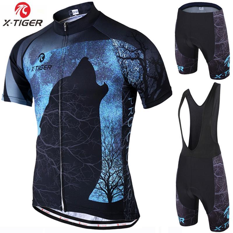 2019 OK Men Women FUNNY Cycling Clothing MTB Bike Wear cycling Jersey Short Set