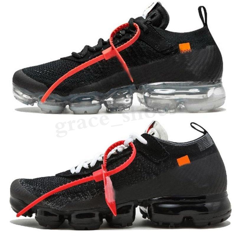 Nike Air VaporMax FK Top Quality vapores 2.0 Branco preto dos homens Running Shoes de vapor para Designer Homens Maxes Sports Air sapatilhas das mulheres Chaussures PP03