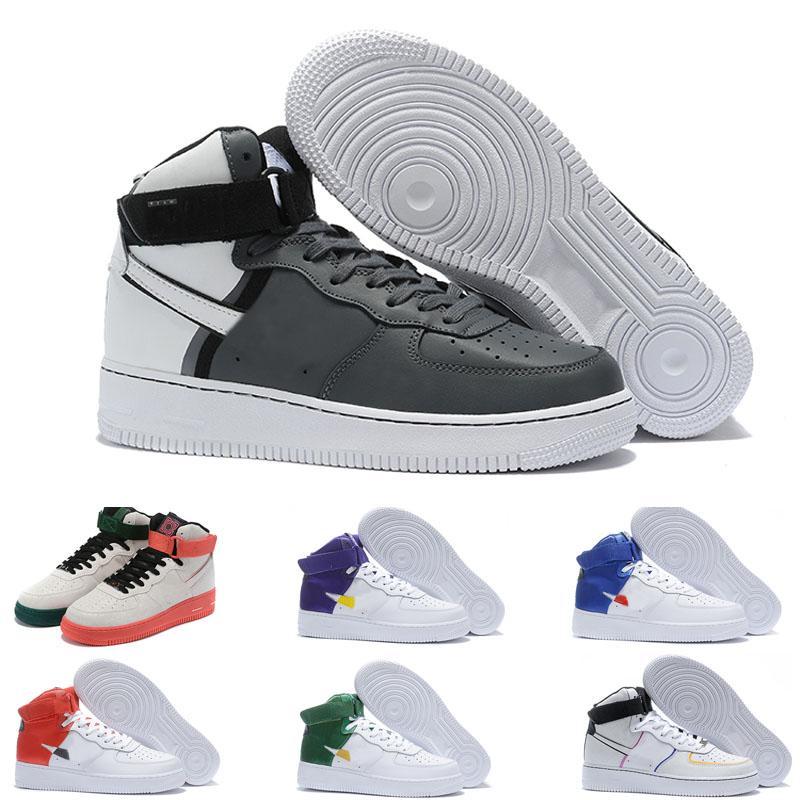 HIGH 1 DONNA MID UOMINI DONNE INVERNO Sportwear Sports Shoes Coppia Coppi Classici Classici Skate Impermeabile Sneaker da corsa