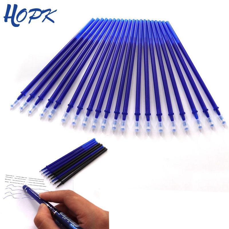 12 / 20Pcs / Set Erasable Pen Rebole Office Rods 0.5 mm Erasable Blue Green Ink Rebellable Occupyles Office School Supplies