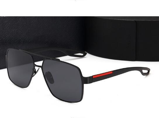 L'ultima versione coreana di grande cornice occhiali da sole polarizzati