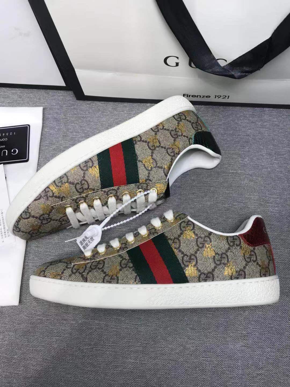 2019diseñador de moda de Lujo Zapatos de mujer scarpe da ginnastica unisexe chaussures boîte sur mesure emballage chaussures chaussures de sport stock gg size35-45