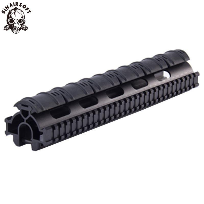 Sinairsoft 원피스 전술 트라이 레일 총열 덮개 레일 범위 마운트 시스템의 경우 홍콩 G3, 91,의 PTR-91과 호환 제품 MNT-tg3tr
