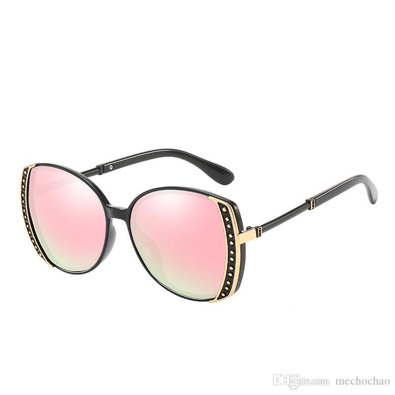 New top quality high-end da moda óculos de sol das Mulheres da moda high-end das mulheres óculos de sol clássicos senhoras condução óculos de sol frete grátis