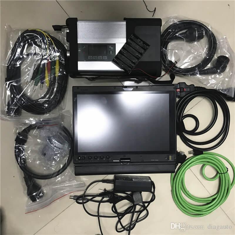mb étoiles c5 SD connexion full-soft ware nouvelle X201T portable Core i7 320 Go HDD 4 g / 8g écran tactile PC MB outil de numérisation diagnostiquer les meilleures fenêtres de qualité 7