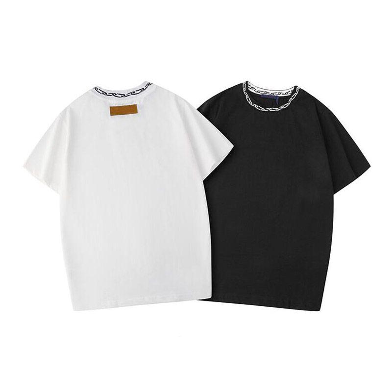 Summer Men T Shirt Hot Black White T Shirt Hip Hop Fashion Men Women Short Sleeve Tees