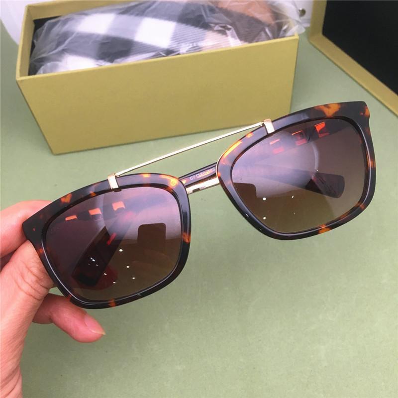 موضة جديدة فاخر مصمم النظارات الشمسية العلامة التجارية النساء الكلاسيكية نظارات الشمس مشرقة سيدة النظارات الشمسية ذات جودة عالية خلات لوح النظارات الشمسية Z0649